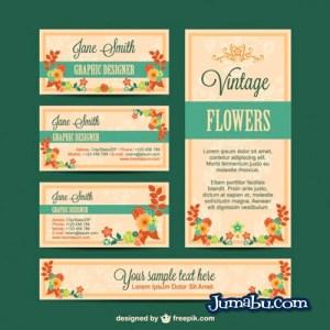 kit de identidad visual floral - Gráfica de identidad Visual con Estilo Floral