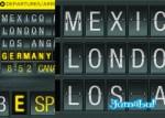 letras carteles aeropuerto psd - Carteles de Aeropuerto en Photoshop