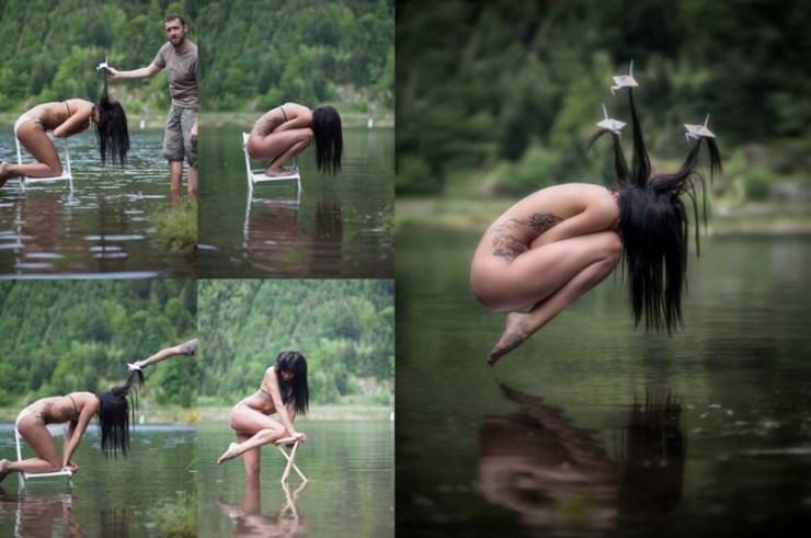 levitacion photoshop - Efectos de Levitación en Photoshop