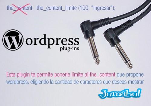 limite contenido wordpress - Como Poner Límites de Caracteres al Contenido de un Post Wordpress