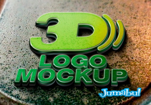 logo 3d mockup psd - Tu Marca en 3D con Mock Up en Photoshop