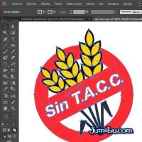 Logo en Vectores Sin T.A.C.C - Celíacos Argentina