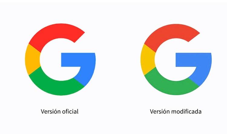 logo google sin reticula - Google diseñó mal su propio logo!