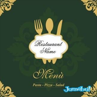 logo menu vectorizado - Vectores para Logo o Menú de Restaurante