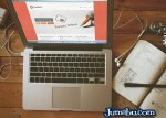mack book air mockup - MacBook Air Mock Up Vintage en PSD