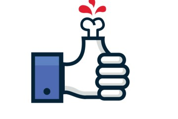 mano facebook jumabu com - Icono de like facebook monstruoso