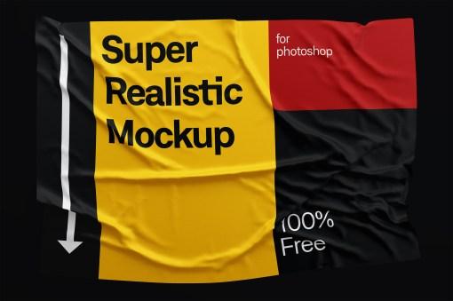 maqueta efecto tela photoshop - Cómo hacer el efecto tela sobre tu diseño con Photoshop
