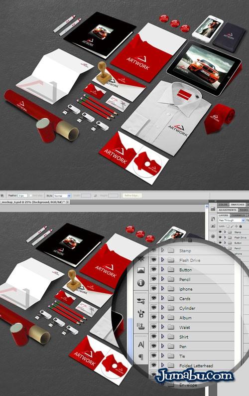 mockup institucional oficina - Mock Up para Colocar tu Logo en Elementos de Oficina