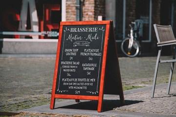 mockup pizarra restaurante photoshop - MockUp en Photoshop de un Pizarrón para Restaurantes
