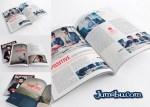 mockup revista libro indesign - Mock Up para Presentar tus Diseños de Revistas