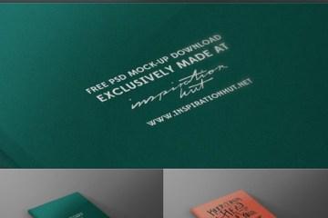 mockup tapa revista libro - Mock Up de Tapa de Libro o Revista en PSD