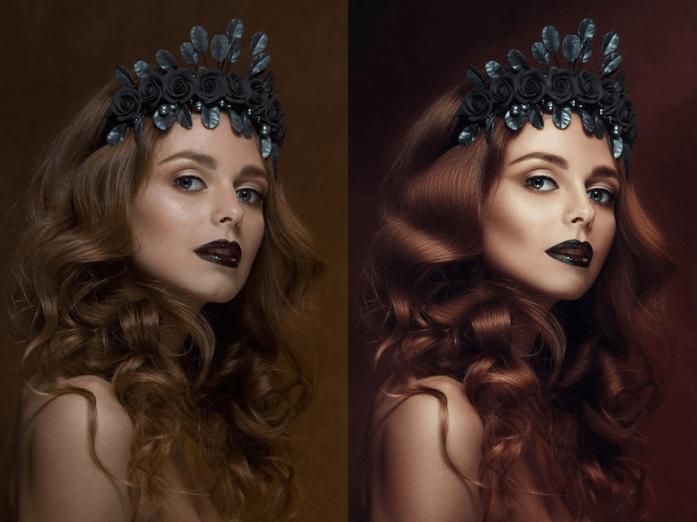 mujer elegante antes y despues de photoshop - Mujeres, paisajes, niños, antes y después de aplicarle photoshop!