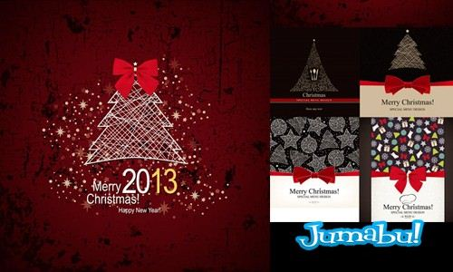 navidad oscura - Recursos Vectoriales para Navidad 2013