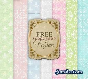 papel decoracion ornamentales - Papeles Ornamentales con Colores Pastel en HD