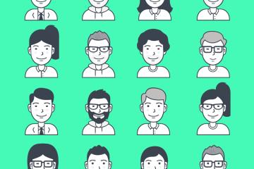 personajes vectores gratis - Personajes en vectores para descargar gratis