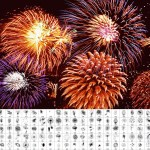 pinceles photoshop artificio fuegos - Pinceles de Fuegos Artificiales para usar con Photoshop