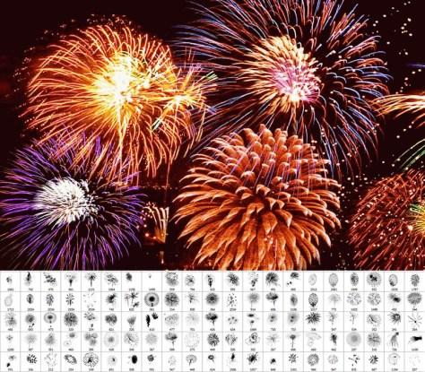 pinceles-photoshop-artificio-fuegos