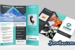 plantilla flyer triptico psd - Mock Ups de Flyers Trípticos Realistas
