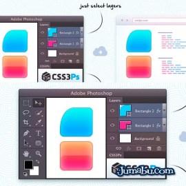 plugin photoshop - Pasar de Photoshop a CSS - Plugin Photoshop Gratis