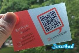 qr code business cards 50 - Tarjetas Personales con Código QR