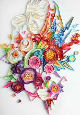 quilling paper abuela - Arte con Papel - Quilling Paper
