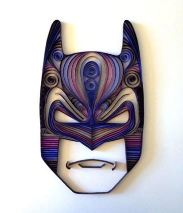 quilling-paper-batman