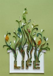 quilling-paper-house