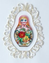 quilling paper monja - Arte con Papel - Quilling Paper