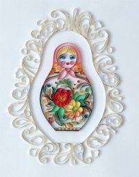 quilling-paper-monja