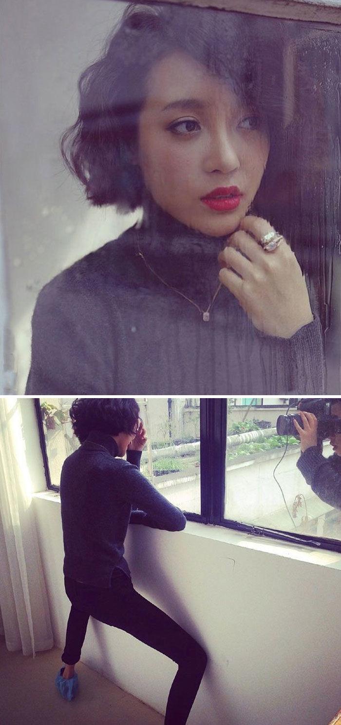 reality behind photography 592c21745ccf3  700 - Gracioso backstage de esas fotos que lucen tan bonitas en Instagram