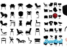 sillas de diseno vectorizadas - Sillas de Diseño en Vectores