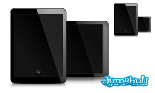 tablet en psd - Tablet en PSD