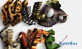 texturas animales letras photoshop - Tutorial Letras Salvajes!
