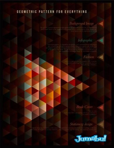 texturas vectores triangulos vectorizados - Fondos Geométricos Triangulares en Vectores