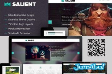 theme wordpress salient - Theme Wordpress Responsive