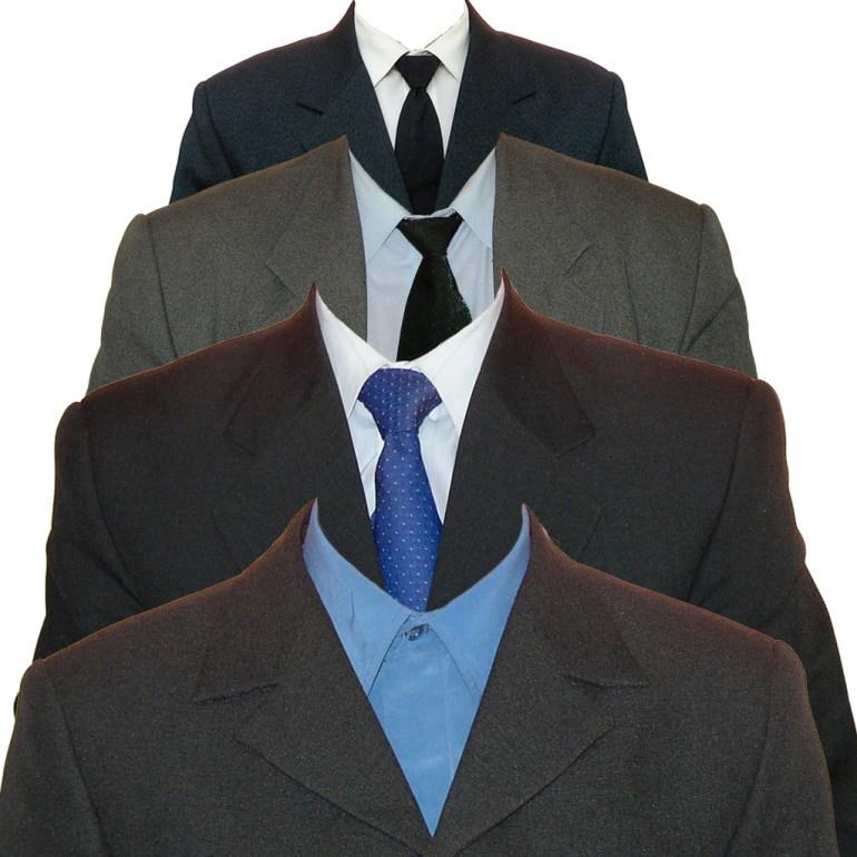 trajes corbata foto 4 x 4 - Trajes para colocar a foto 4 x 4