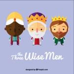 tres reyes magos vectores - Los Reyes Magos Vectorizados y Gratis para Bajar