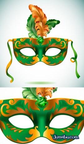 vectores de mascaras carnaval - Máscaras de Carnaval en Vectores