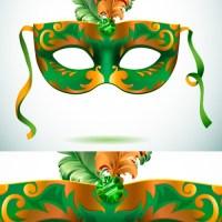 Máscaras de Carnaval en Vectores
