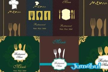 vectores restaurante logo menu - Vectores para Logo o Menú de Restaurante