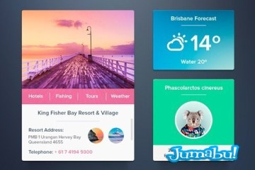 widget photoshop metro plano - Widgets con Estilo Metro o Plano en PSD