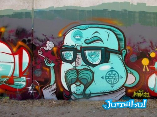 yok1 500x3753 - Excelente Blog de Grafitis