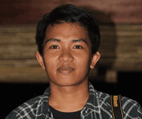 foto adi wijaya lulusan stan blogger makassar