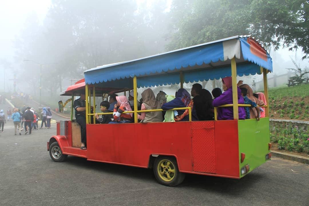 fasilitas mobil wisata di golaga purbalingga