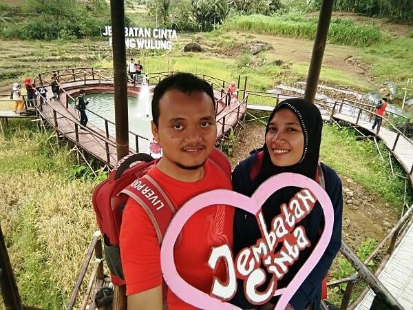 jembatan cinta desa panusupan