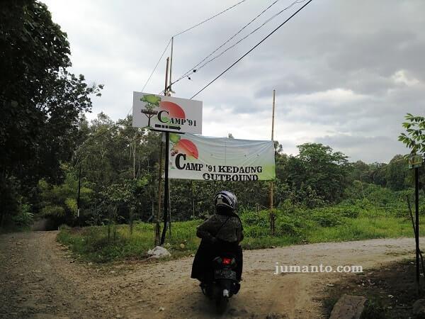 foto lokasi camp 91 kemiling bandar lampung