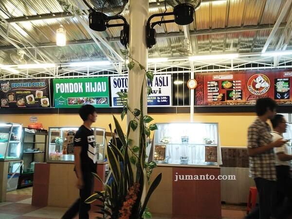 foto lokasi macarena foodcourt lampung