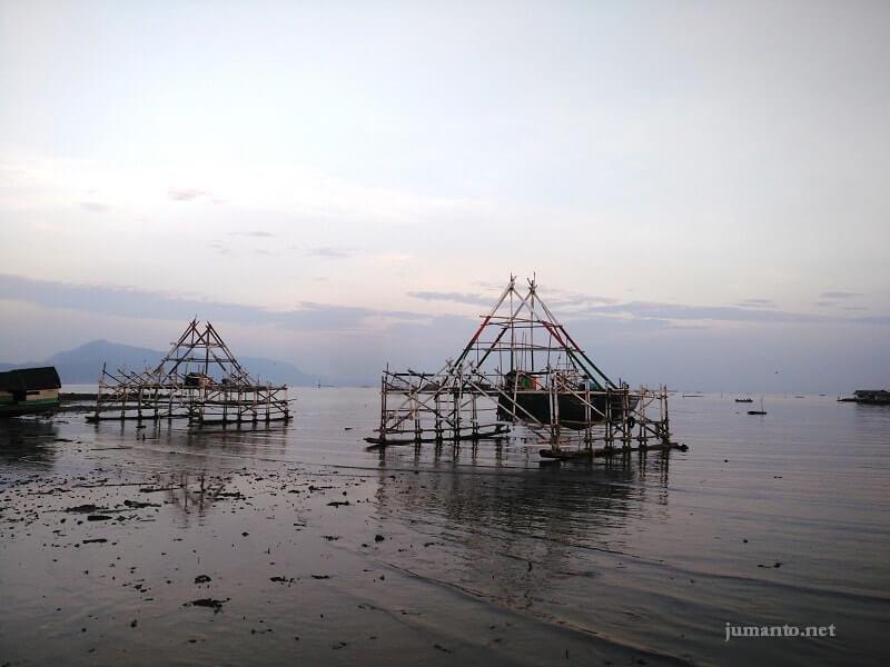 pemandangan pulau pasaran bandar lampung