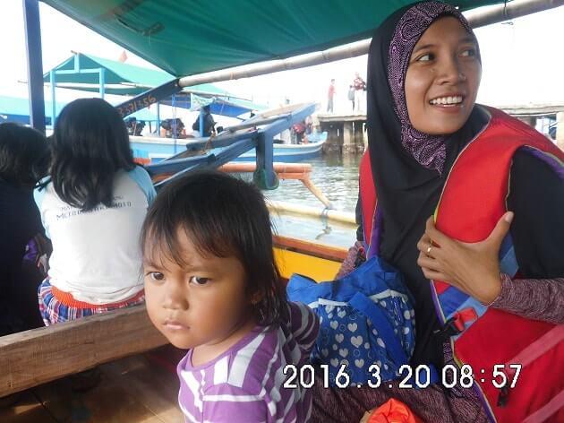 perahu ke pulau pahawang