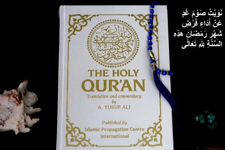 doa lafadz niat puasa ramadhan arab